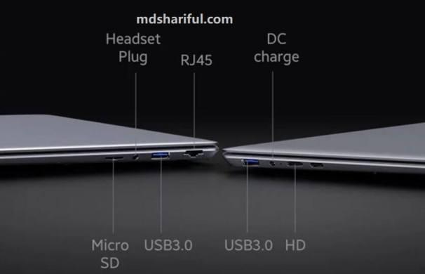 Chuwi HeroBook Plus features