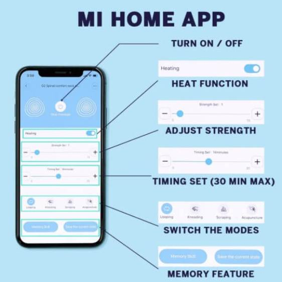 How to use Xiaomi Jeeback G3 massager 6