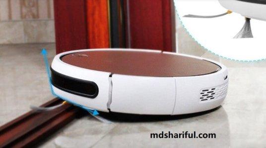 Isweep X3 Robot Vacuum design