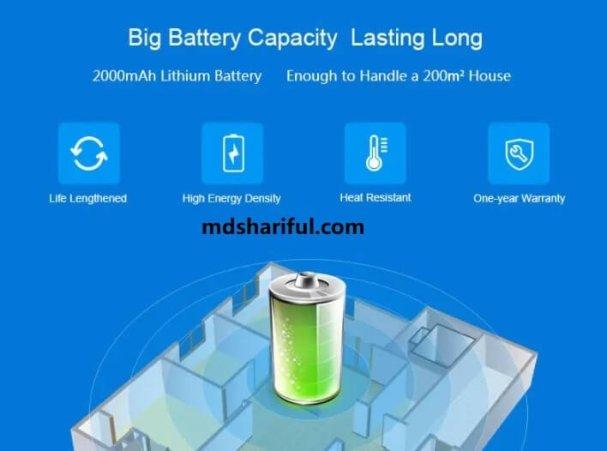 Liectroux Q7000 robotic vacuum battery
