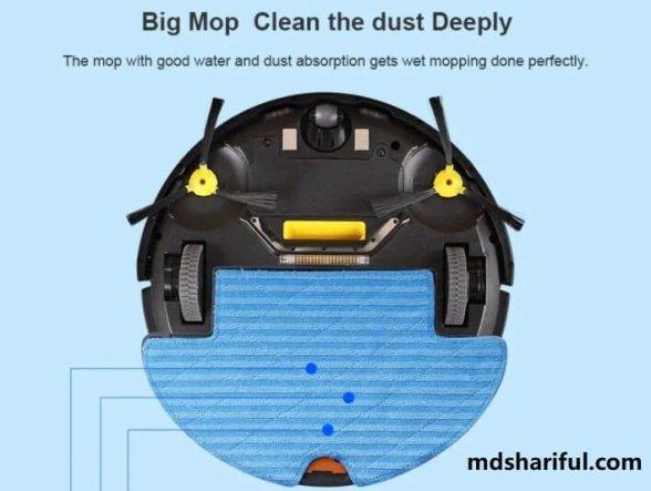 Liectroux Q7000 robotic vacuum mop