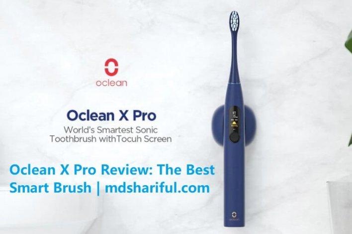 Oclean X Pro at Amazon