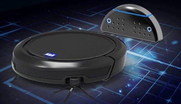 QQ9 Robot Vacuum Cleaner Design