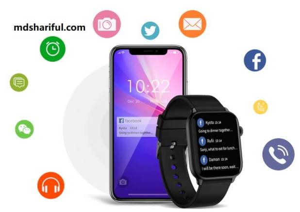 Ticwris GTS Smartwatch control