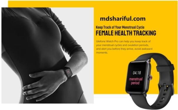 Ulefone Watch Pro Smartwatch female