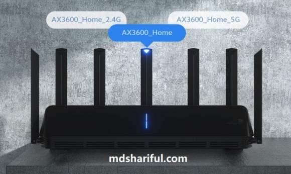 Xiaomi Mi Router AX6000 design