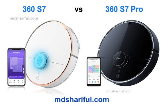 360 S7 vs S7 Pro
