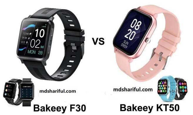 Bakeey F30 vs KT50