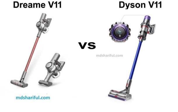 Dreame V11 vs Dyson V11