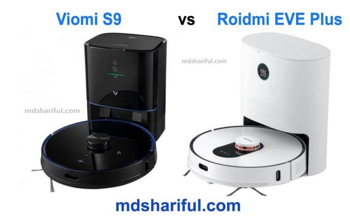 Viomi S9 vs Roidmi EVE Plus