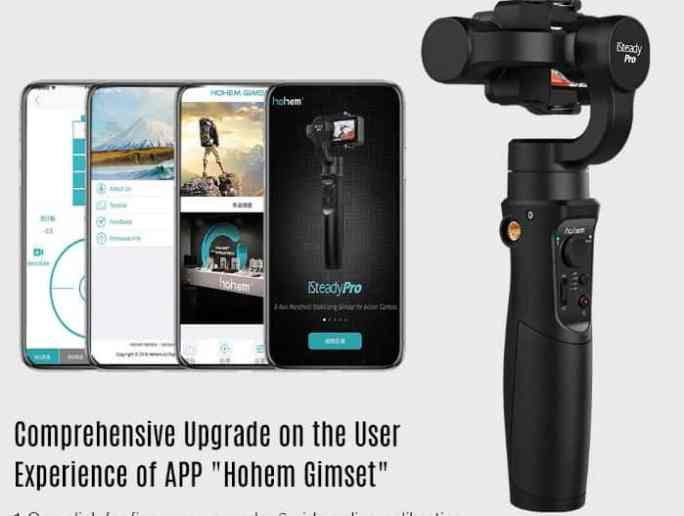 Hohem iSteady Pro 3 design