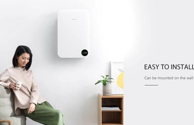 Smartmi Wall-mounted design