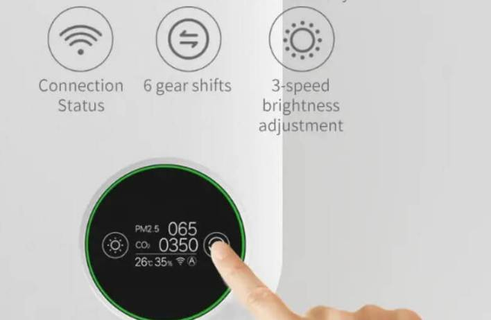 Smartmi Wall-mounted feature2