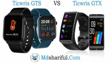 Ticwris GTS vs GTX