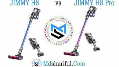 JIMMY H8 vs JIMMY H8 Pro
