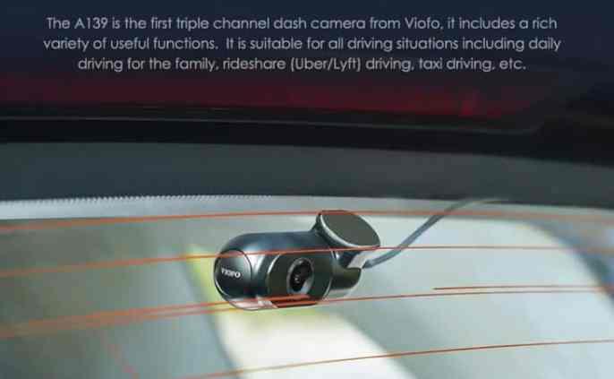 VIOFO A139 design