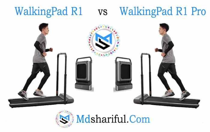 Walkingpad R1 vs R1 Pro