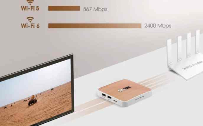 MECOOL KM6 design