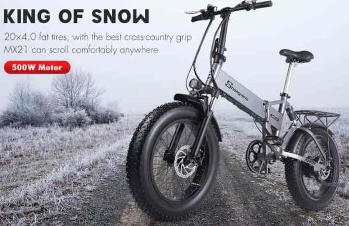 Shengmilo MX21 E-Bike feature