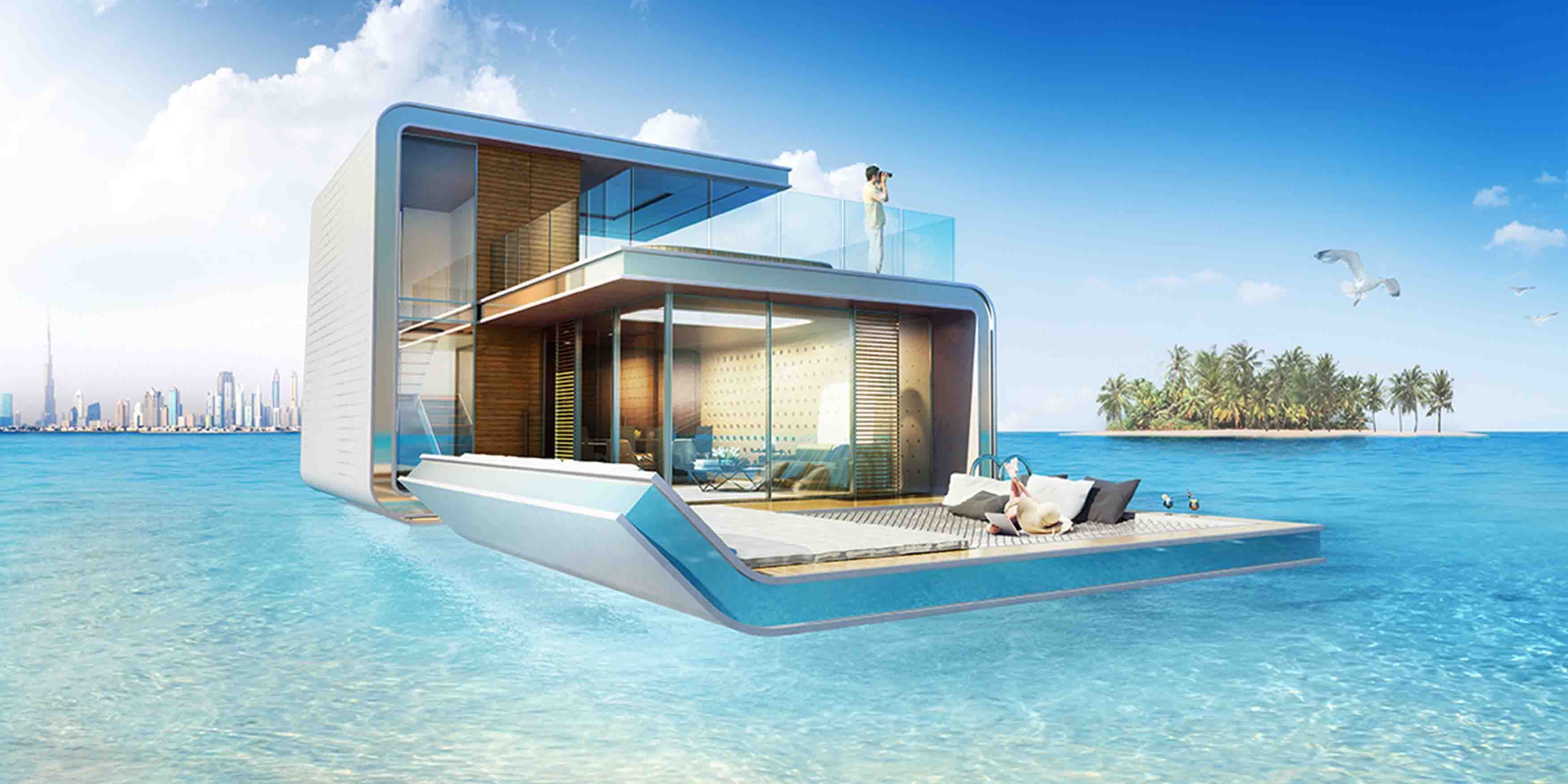 The Floating Houses Of Dubai