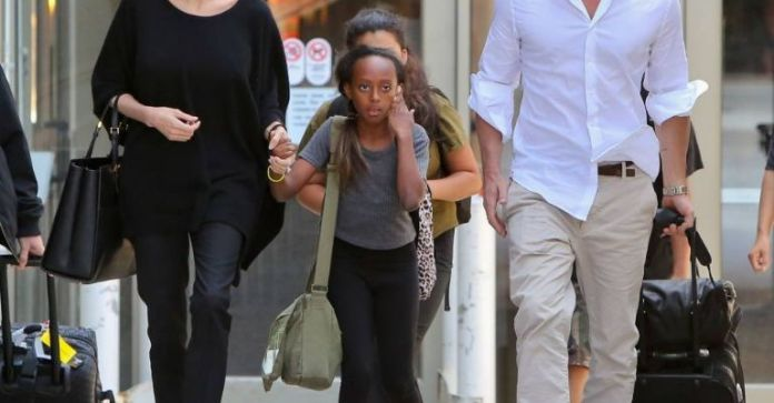 Angelina Jolie and Brad - Kids