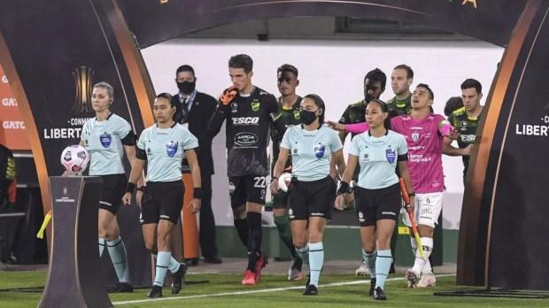 Un hito sin precedentes: las cuatro mujeres que hicieron historia en la Copa Libertadores | MDZ Online