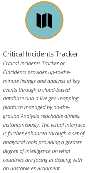 Critical Incidents Tracker