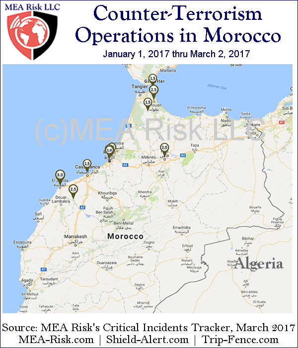 Counter-Terrorism Operations in Morocco