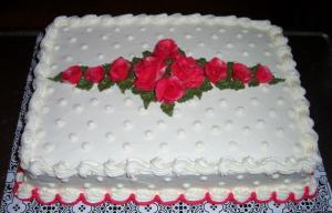 19.  Birthday or Anniversary Cake (9x13) by True Confections/Gerri Reimer