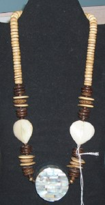 43. Large Bead Earthtone Necklace
