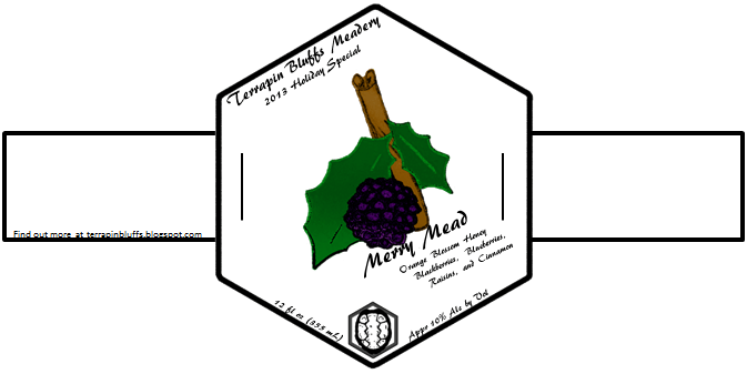 The 2013 Merry Mead Label