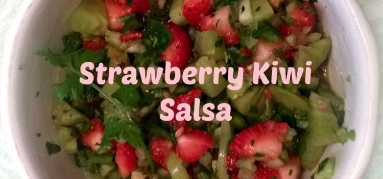 Grilled Mahi Mahi with Strawberry Kiwi Salsa