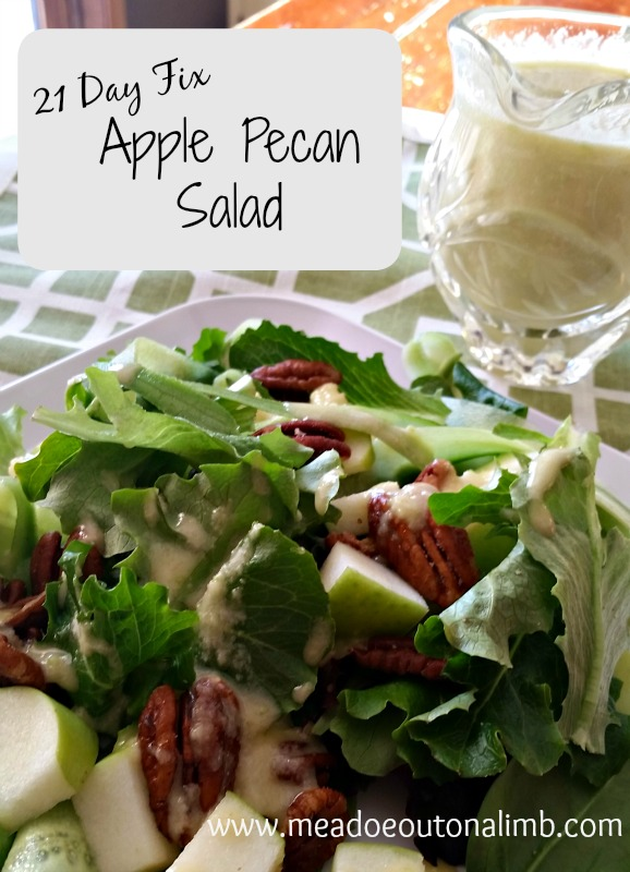 apple pecan salad recipe