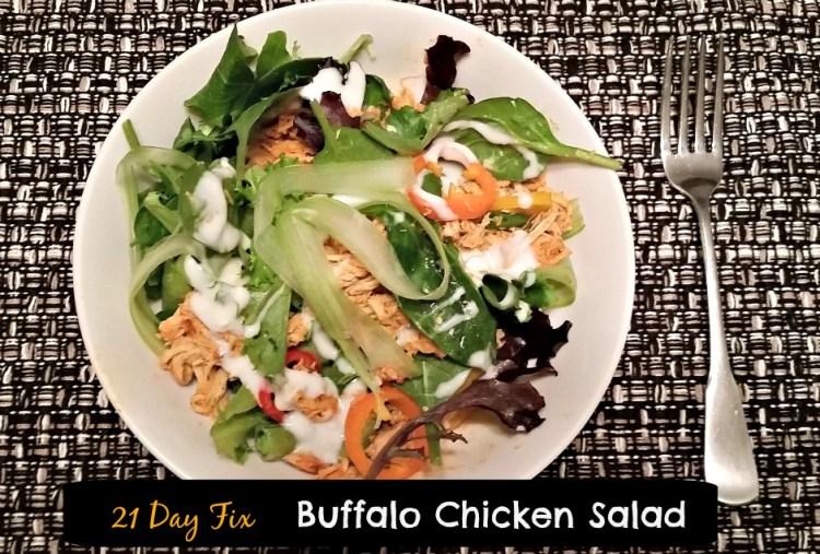 21 Day Fix Buffalo Chicken