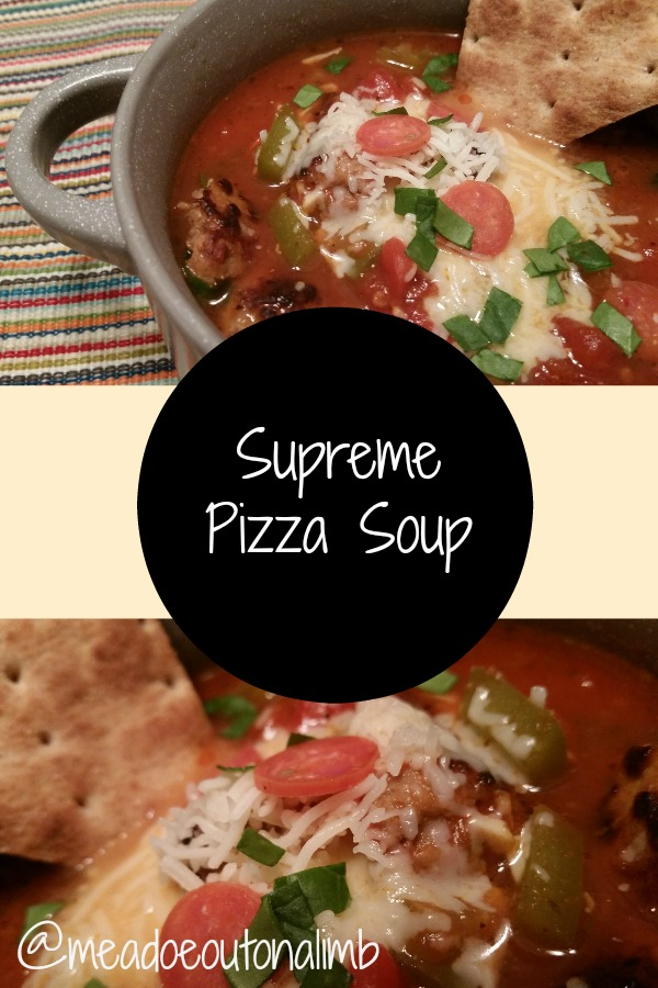 healthy pizza soup recipe
