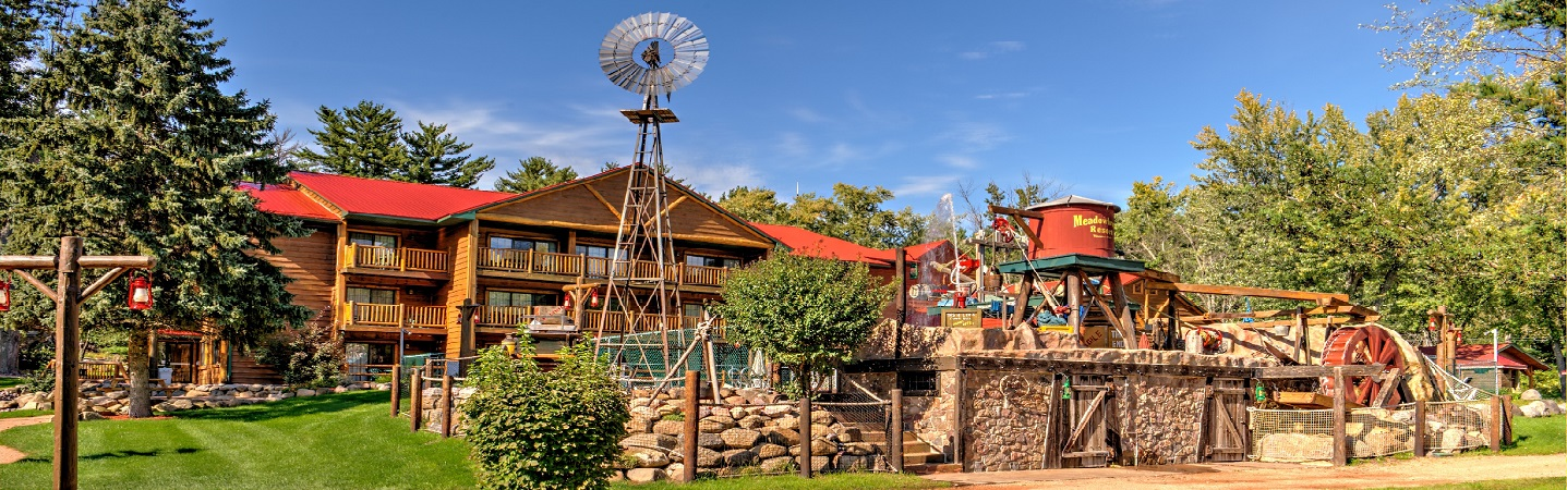 View of the Water Activities at Meadowbrook Resort in Wisconsin Dells