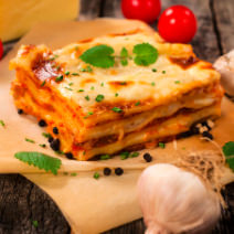 Holiday Party Catering - Homemade Lasagna