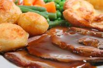 A Meadowvale Catering roast beef dinner
