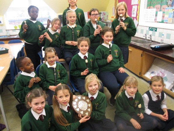 Recorder Club Eastbourne Music Festival Shield 1