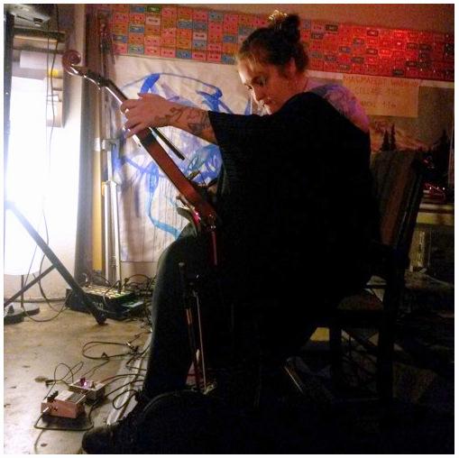 Brilligh, live at Hollow Earth Radio, Seattle WA, 2015. Photo by Ruby Nekk