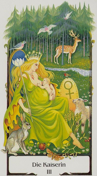 Die Kaiserin (The Empress), Tarot of the Old Path