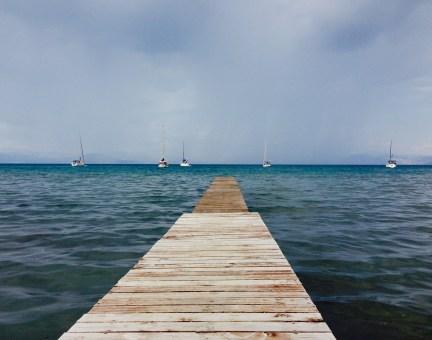 Taking Topdeck | Greek Island Sailing