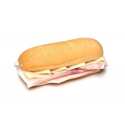 panino prosciutto cotto e formaggio