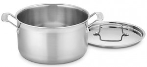 Cuisineart's Multiclad Pro large pot is our recommended large pot.