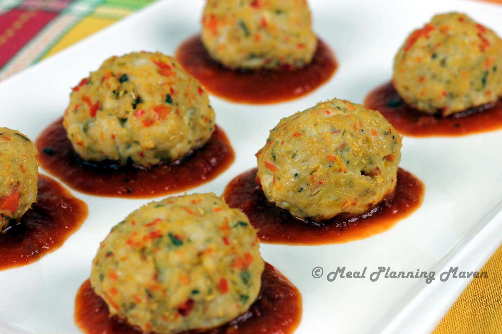 Confetti Turkey Meatballs