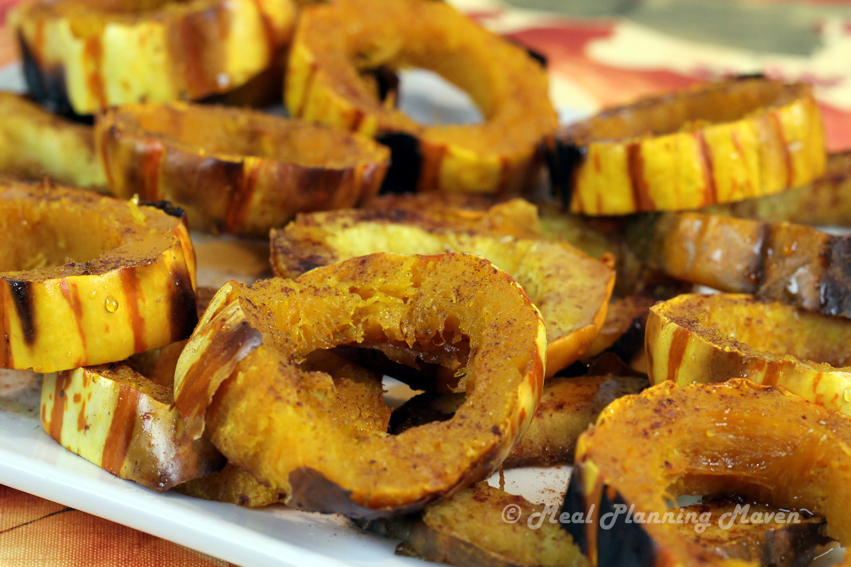 Maple-Infused Acorn and Delicata Squash Rings