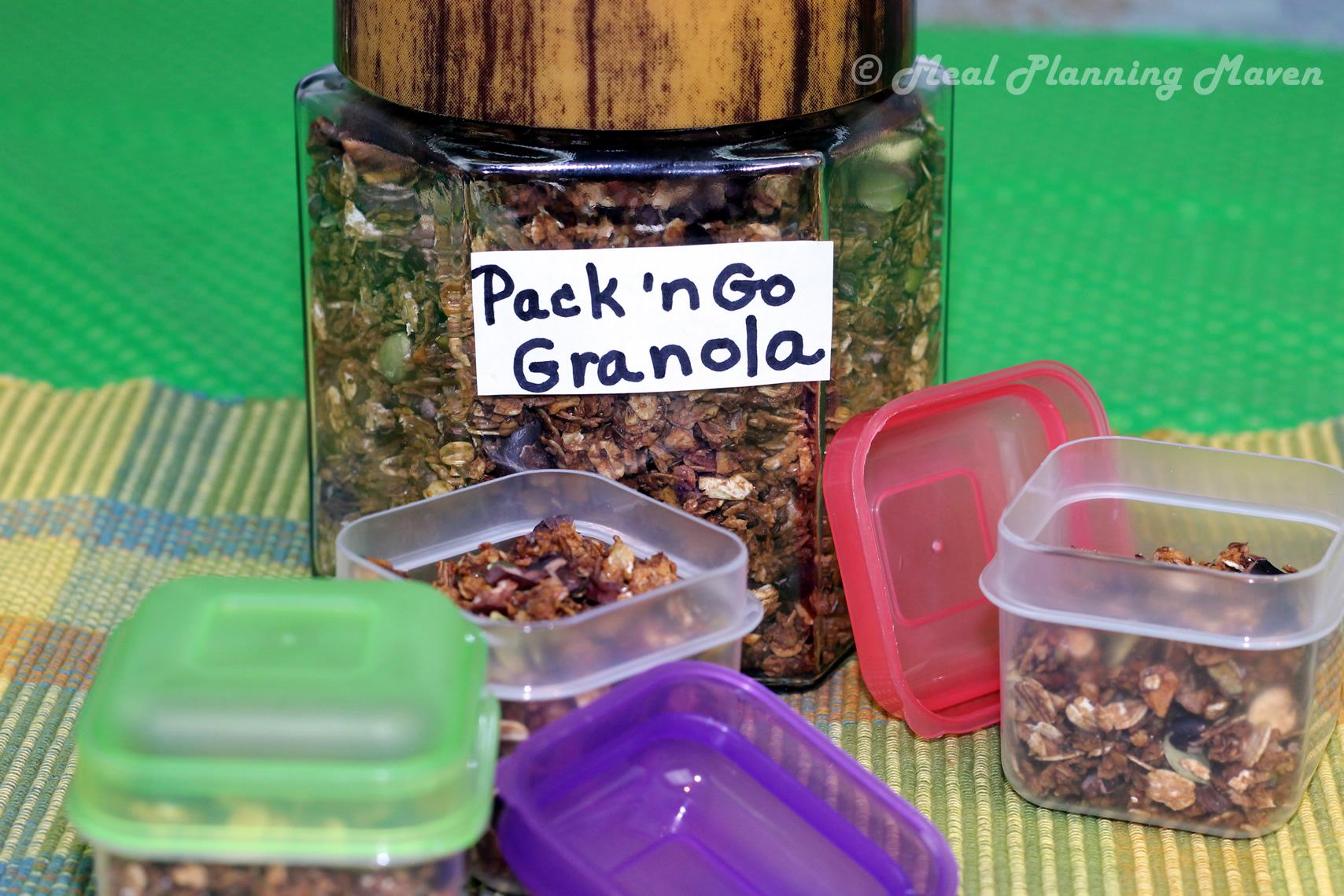 Pack 'n Go Granola