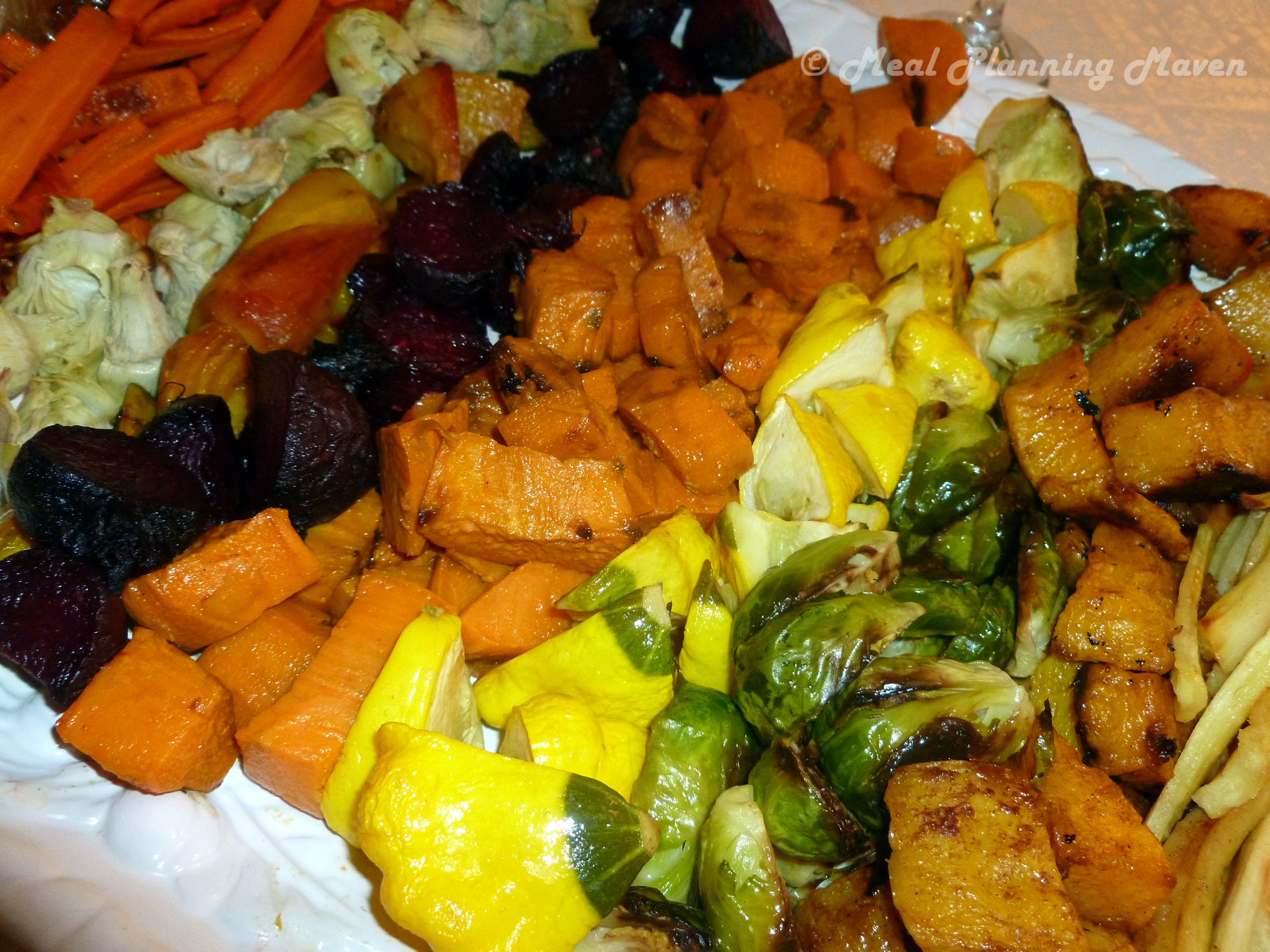 Potpourri Of Roasted Vegetables