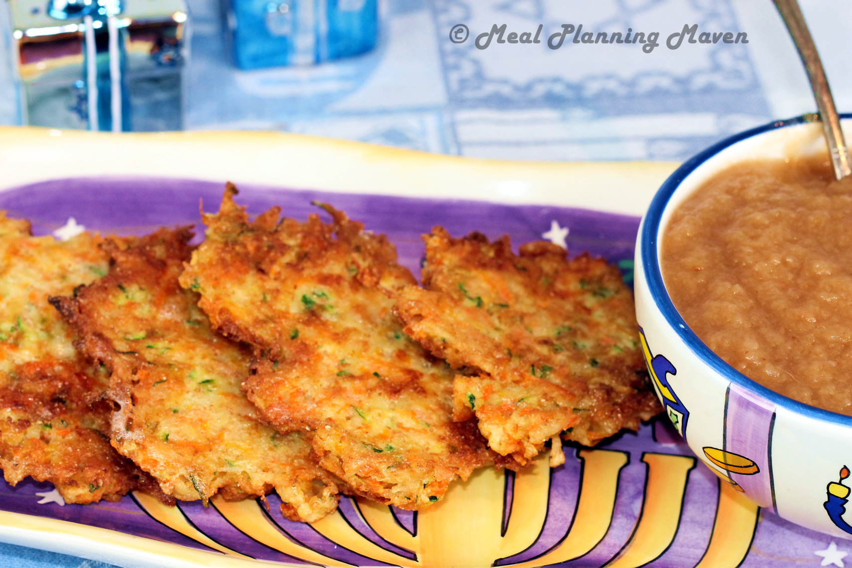 Veggie-Potato Latkes