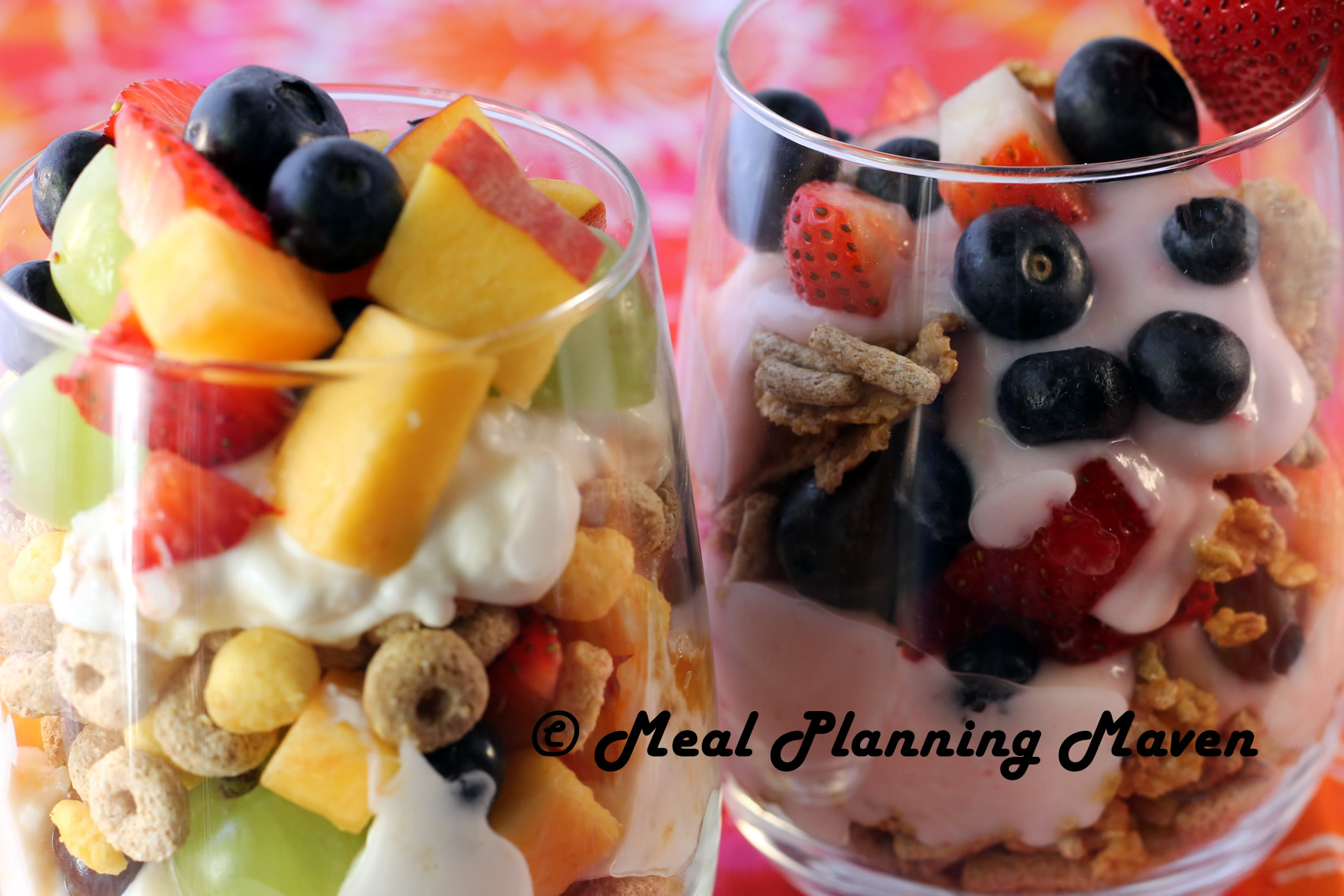 Yo-Fruity Crunch Sundaes